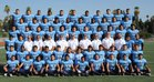 Ramona Rams Boys Varsity Football Fall 17-18 team photo.