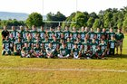 Cornwall Central Dragons Boys Varsity Football Fall 17-18 team photo.