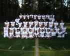 Lynnwood Royals Boys Varsity Football Fall 17-18 team photo.