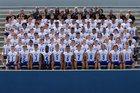 Bingham Miners Boys Varsity Football Fall 17-18 team photo.