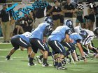 Sam Rayburn Texans Boys Varsity Football Fall 17-18 team photo.