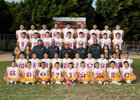 Roosevelt Rough Riders Boys Varsity Football Fall 17-18 team photo.