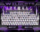 El Dorado Wildcats Boys Varsity Football Fall 17-18 team photo.