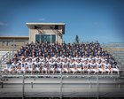 Glacier Peak Grizzlies Boys Varsity Football Fall 17-18 team photo.