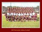 Harlandale Indians Boys Varsity Football Fall 17-18 team photo.