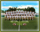 West Las Vegas Dons Boys Varsity Football Fall 17-18 team photo.