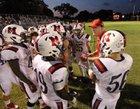 St. Martin's Episcopal Saints Boys Varsity Football Fall 17-18 team photo.