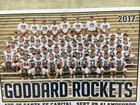 Goddard Rockets Boys Varsity Football Fall 17-18 team photo.