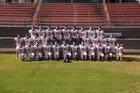 Magnet Cove Panthers Boys Varsity Football Fall 17-18 team photo.