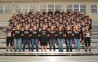 Pea Ridge Blackhawks Boys Varsity Football Fall 17-18 team photo.