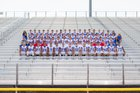 Las Cruces Bulldawgs Boys Varsity Football Fall 17-18 team photo.