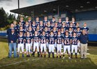 Pe Ell/Willapa Valley  Boys Varsity Football Fall 17-18 team photo.
