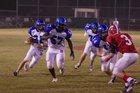 Brookstone Cougars Boys Varsity Football Fall 17-18 team photo.