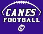 Gainesville Hurricanes Boys Varsity Football Fall 17-18 team photo.