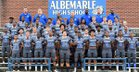 Albemarle Bulldogs Boys Varsity Football Fall 17-18 team photo.