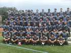 Walnut Mustangs Boys Varsity Football Fall 17-18 team photo.
