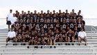 Taos Tigers Boys Varsity Football Fall 17-18 team photo.