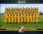 Brennan Bears Boys Varsity Football Fall 17-18 team photo.