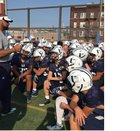 Union City Soaring Eagles Boys Varsity Football Fall 17-18 team photo.