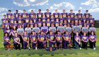 Burges Mustangs Boys Varsity Football Fall 17-18 team photo.