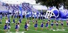 Clemens Buffaloes Boys Varsity Football Fall 17-18 team photo.