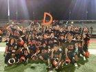San Mateo Bearcats Boys Varsity Football Fall 17-18 team photo.