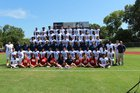 Bishop Dunne Falcons Boys Varsity Football Fall 17-18 team photo.