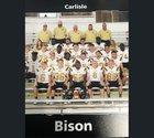 Carlisle Bison Boys Varsity Football Fall 17-18 team photo.