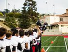 La Jolla Vikings Boys Varsity Football Fall 17-18 team photo.