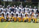 Fullington Academy Trojans Boys Varsity Football Fall 17-18 team photo.