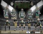 West Vikings Boys Varsity Football Fall 17-18 team photo.