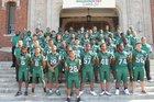 Trimble Tech Bulldogs Boys Varsity Football Fall 17-18 team photo.