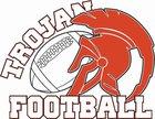Cambridge Trojans Boys Varsity Football Fall 17-18 team photo.
