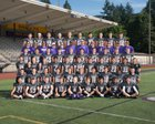 Issaquah Eagles Boys Varsity Football Fall 17-18 team photo.