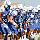 Katy Taylor Mustangs Boys Varsity Football Fall 17-18 team photo.