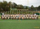 Los Alamos Hilltoppers Boys Varsity Football Fall 17-18 team photo.