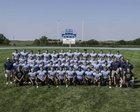 Riley County Falcons Boys Varsity Football Fall 17-18 team photo.