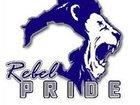 Fairfax Rebels Boys Varsity Football Fall 17-18 team photo.