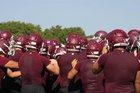 Lockhart Lions Boys Varsity Football Fall 17-18 team photo.