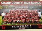 Grand County Red Devils Boys Varsity Football Fall 17-18 team photo.