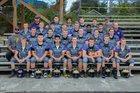 Friday Harbor Wolverines Boys Varsity Football Fall 17-18 team photo.