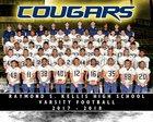Kellis Cougars Boys Varsity Football Fall 17-18 team photo.