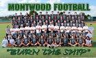 Montwood Rams Boys Varsity Football Fall 17-18 team photo.