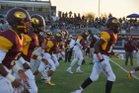 Edison Vikings Boys Varsity Football Fall 17-18 team photo.
