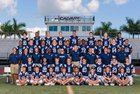 Calvary Christian Warriors Boys Varsity Football Fall 17-18 team photo.
