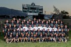 Tehachapi Warriors Boys Varsity Football Fall 17-18 team photo.