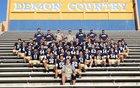 Santa Fe Demons Boys Varsity Football Fall 17-18 team photo.
