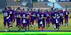 Ridge Point Panthers Boys Varsity Football Fall 17-18 team photo.