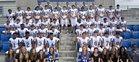 Tattnall Square Academy Trojans Boys Varsity Football Fall 17-18 team photo.