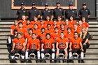 Half Moon Bay Cougars Boys Varsity Football Fall 17-18 team photo.